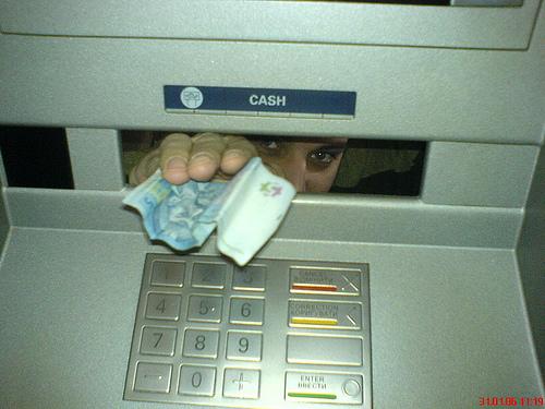 Основні правила безпеки при використанні банкоматів